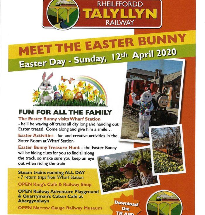 Talyllyn Railway Easter Bunny
